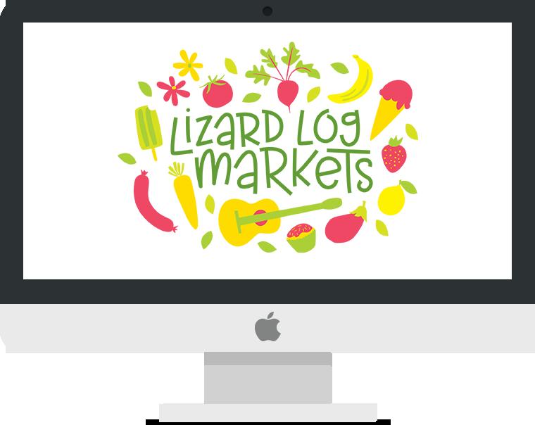 Lizard Log Markets Logo